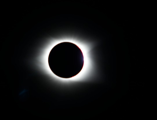 Totality during the Eclipse on August 21st, 2017